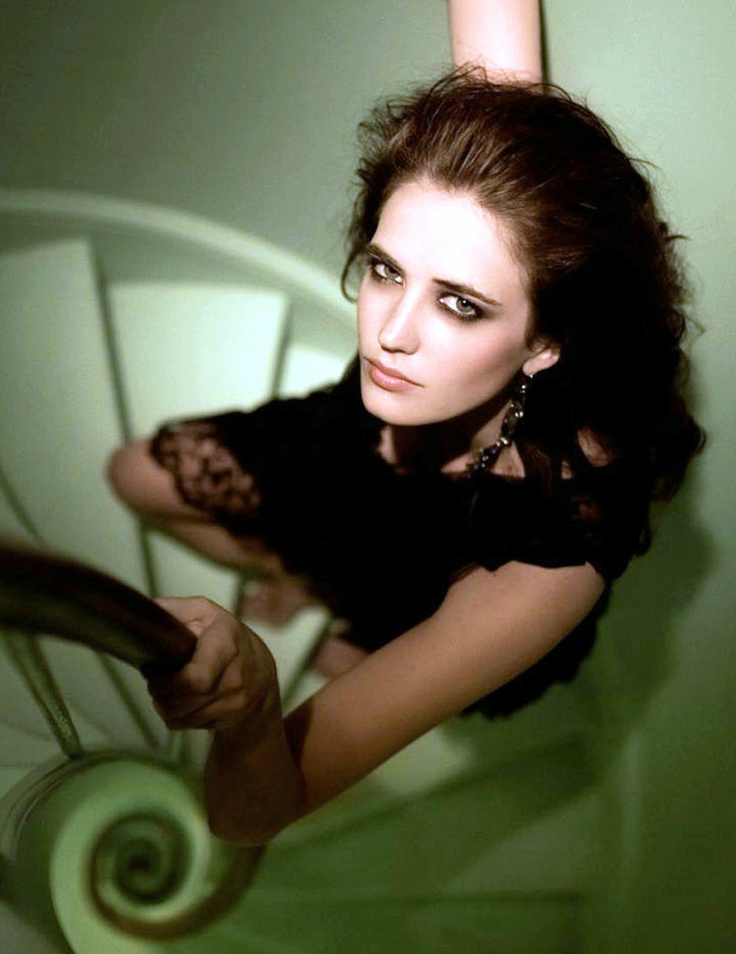 Eva Green and her square eyes