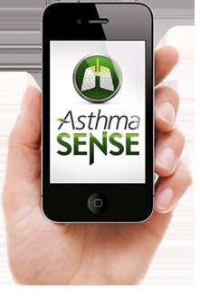 Learn more about asthma symptoms - get an app to help you track them.