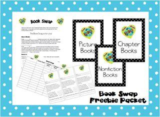 Classroom Freebies: Book Swap