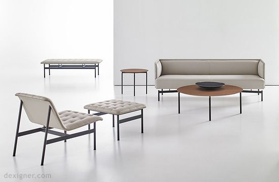 Finale and CP Lounge by Charles Pollock for Bernhardt Design