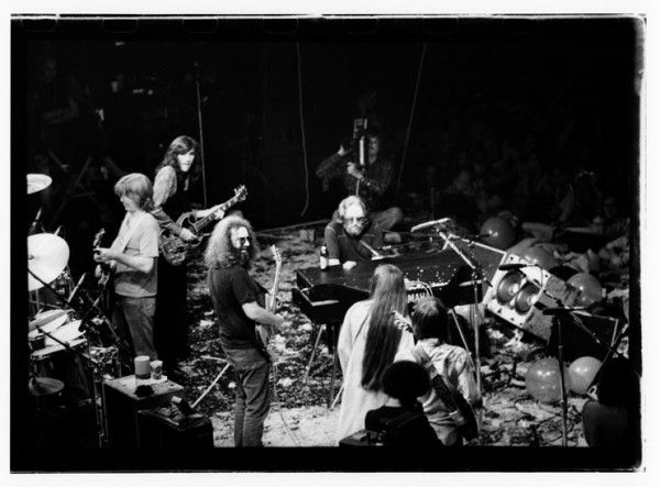 Phil, John Cipollina, Jerry, Keith and Donna Jean, NYE 1978. Winterland Arena, San Francisco, CA