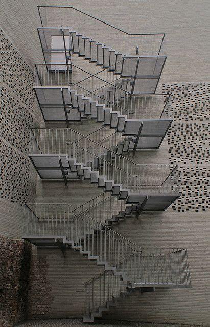 Kolumba stairs