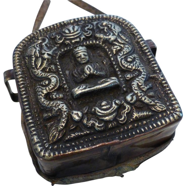 27 best gau tibetan pendant box images on pinterest prayer box brass copper tibetan gau double dragon buddha prayer box pendant aloadofball Image collections