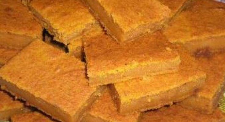 Update Sütőtökös sütemény recept