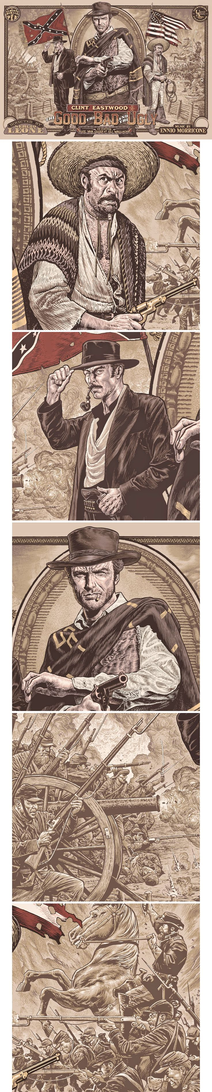 The Good, The Bad & The Ugly by Chris Weston