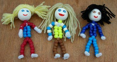 Guiding Doll (pipe cleaners)