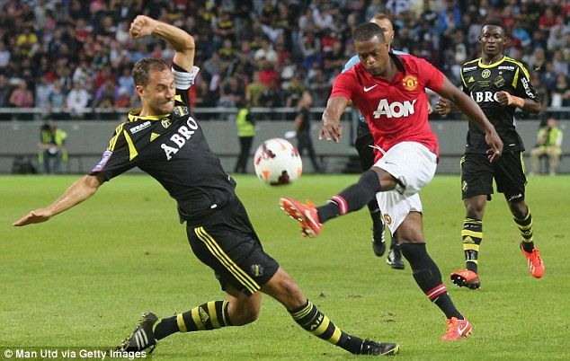 Patrice Evra vs AIK