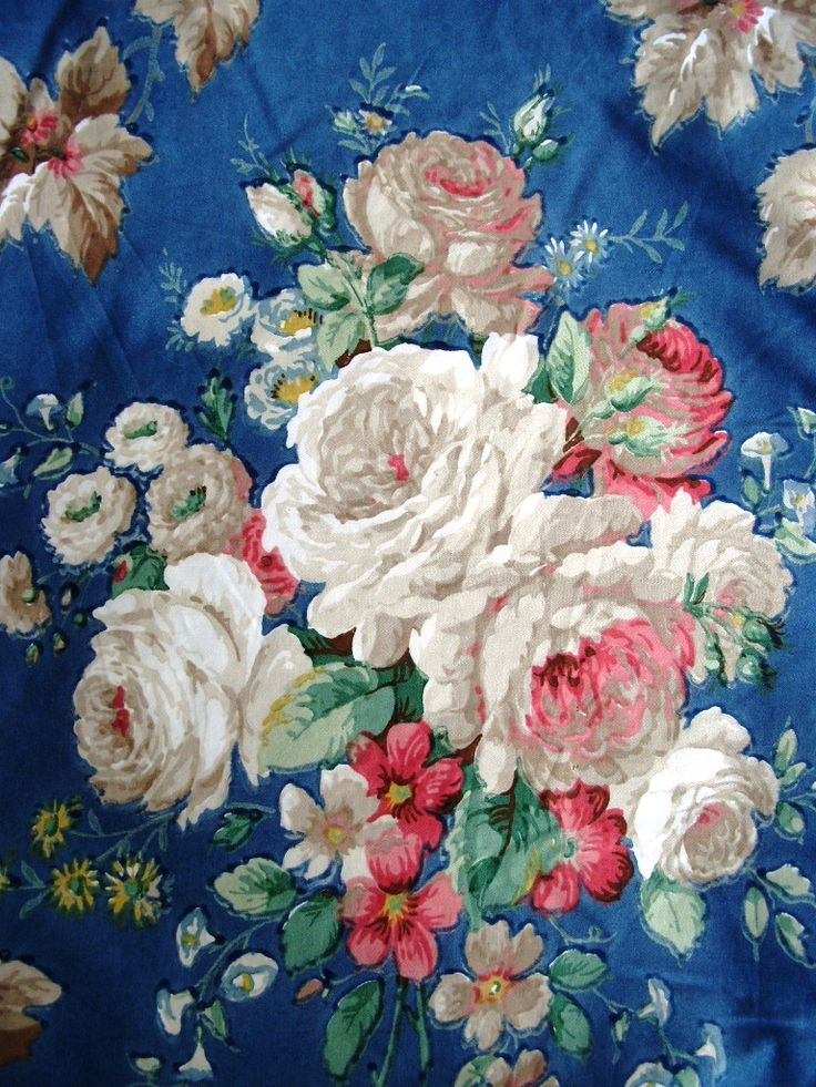 vintage Sanderson chintz...gets me everytime