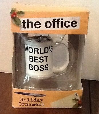 TV Show The Office Official NBC Holiday Tree Ornament Worlds