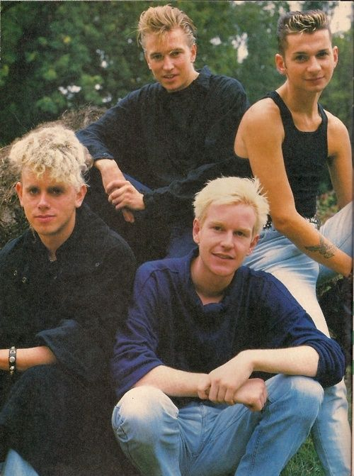 Depeche ModeTotally went to see them in the 8th grade! Alan Wilder was my fav