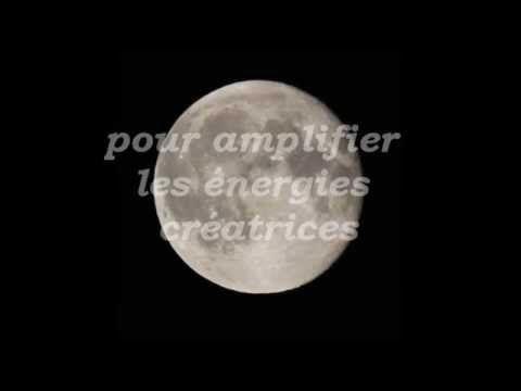 Méditation - Demander l'abondance à la Pleine lune - Affirmations positives - YouTube