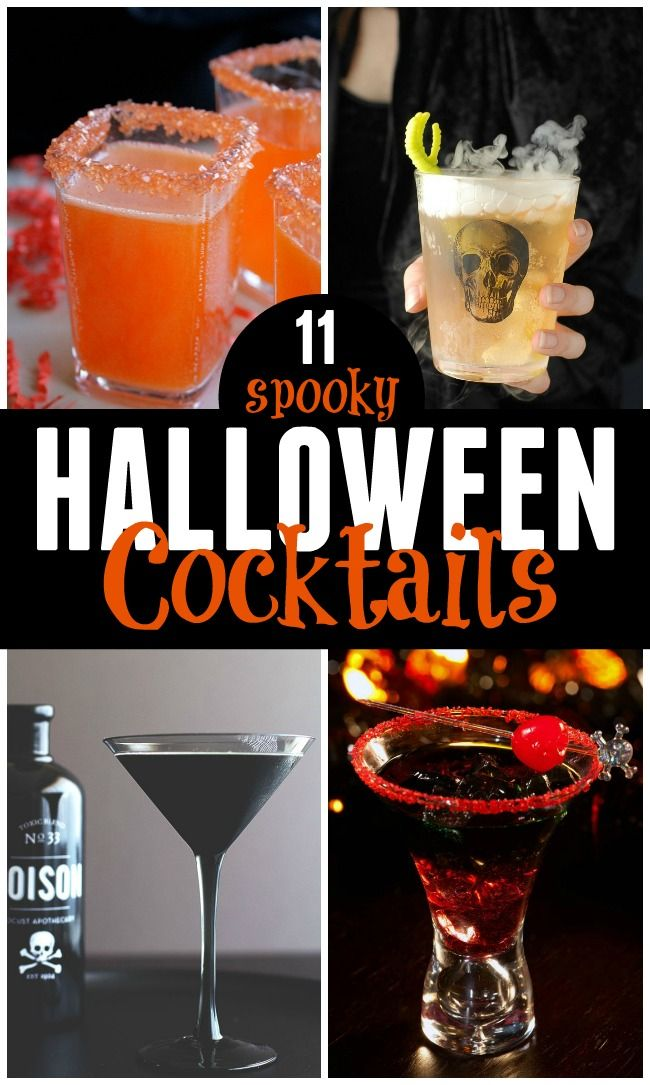 It's that time of year! Checkout these11 Spooky Halloween Cocktails, perfect for parties or a spooky night in!