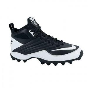 SALE - Kids Nike Speed Shark Football Cleats Black Leather - Was $46.99 -  SAVE $32.00