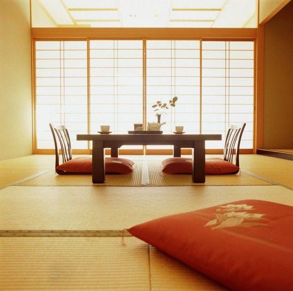 Decoração Japonesa imagem 600x595 Fotos de Modelos de Decoração Japonesa em Casa ou Apartamento
