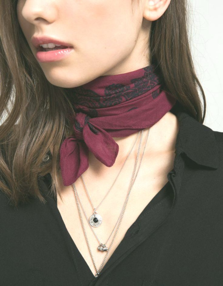 Pañuelo Bandana Cuello Bandana Cuello Pañuelo Ways To Wear A Scarf Bandana Neck Scarf Neck Scarves