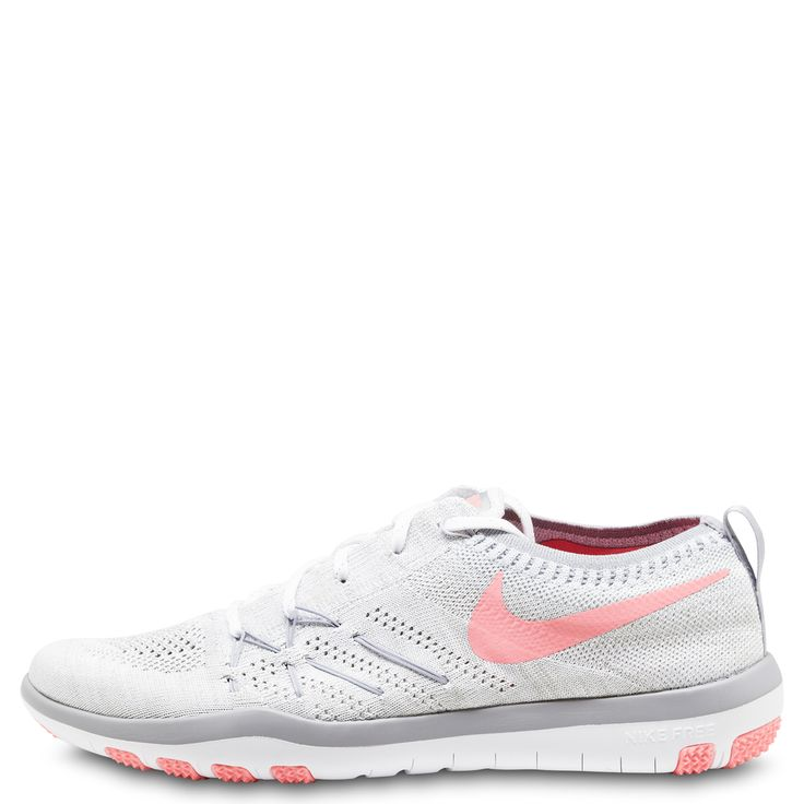 Nike WMNS Free TR Focus Flynit, Chaussures fitness Blanc