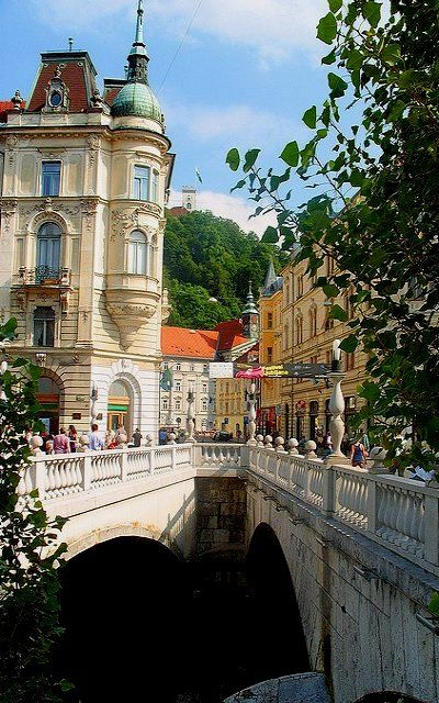 Ljubljana, Slovenia | Flickr - Photo by Mike Stirling
