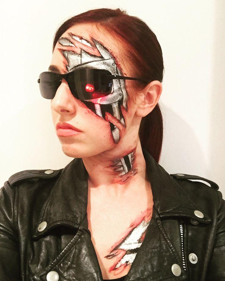 Best 25+ Terminator Makeup Ideas On Pinterest