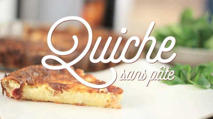 Recette de Quiche lorraine sans pâte . Facile et rapide à réaliser, goûteuse et diététique. Ingrédients, préparation et recettes associées.