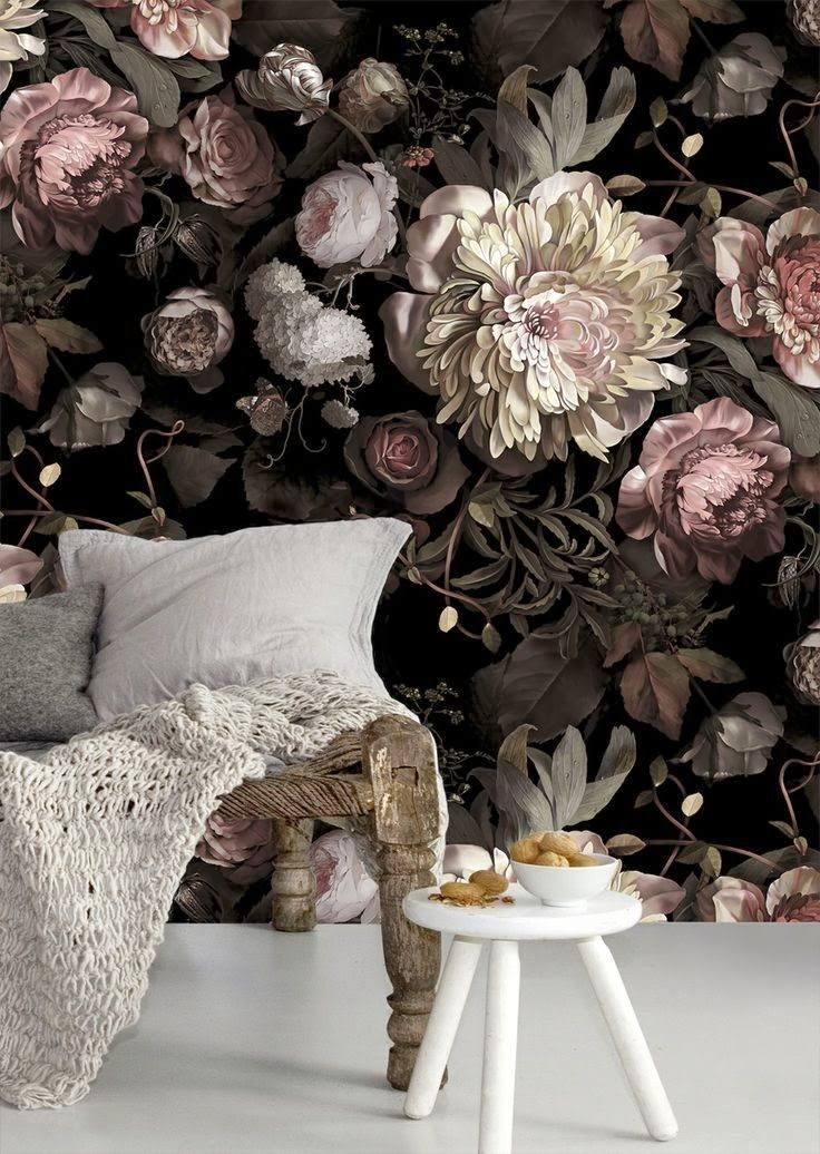 Flower wallpaper seem to be a cliché but they are still worthy of taking into consideration for wallpaper none-the-less.