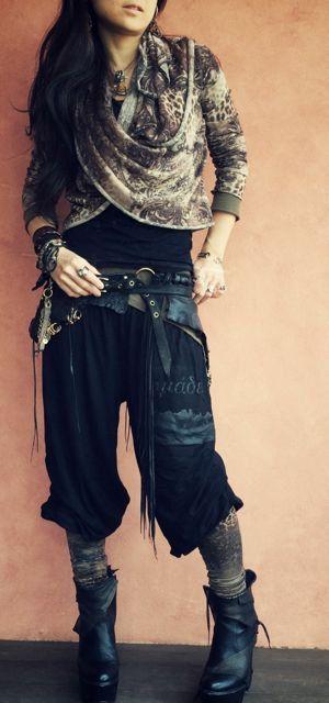 tribalyogafestival clothes soft fabricND/PANTS01 by NomadWorld