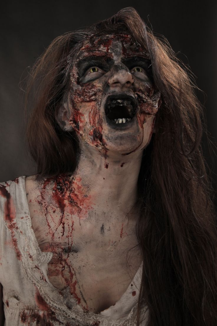 maquillage zombie paris