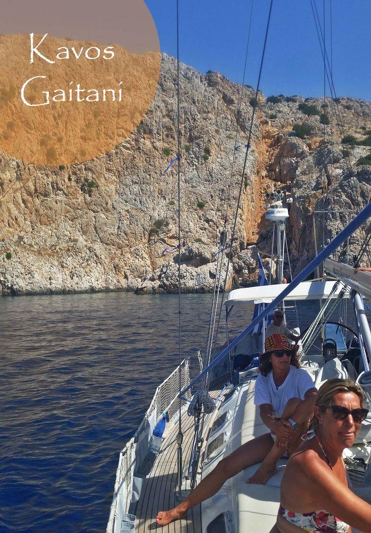 July 2nd, 2017. Sailing at Kavos Gaitani. What a wonderful day!  Book now at: http://www.NaxosSailing.com  #naxossailing #annabellayacht #summer #naxosisland #greece #naxos #naxosactivities #sailing #sailinggreece