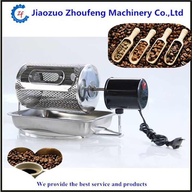79.00$  Buy here - http://alijqe.worldwells.pw/go.php?t=32357313758 - Coffee bean roasting machine household mini stainless steel electric drum type rotation coffee roaster  ZF 79.00$