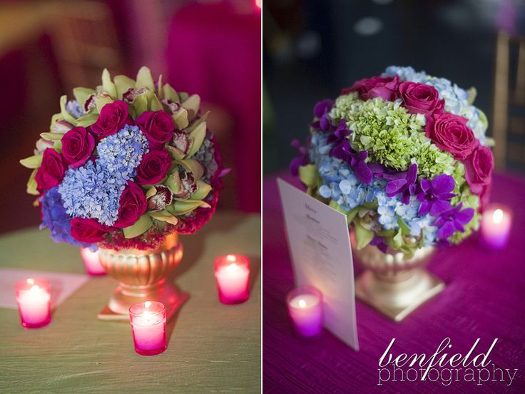 Creative Project: Indian style table decorations | event flowers