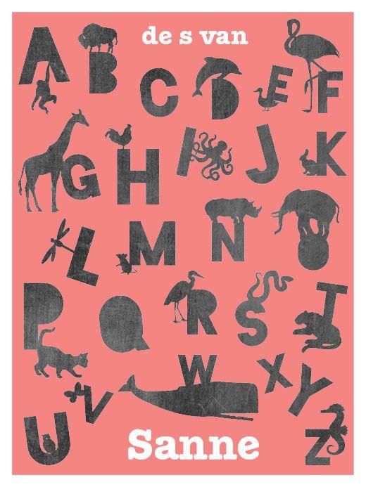 25 beste idee n over dieren alfabet op pinterest - Deco slaapkamer ontwerp volwassen ...