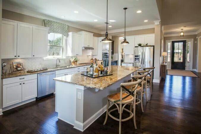 Kitchen - Beazer Homes | New homes, Home, Modern kitchen ...