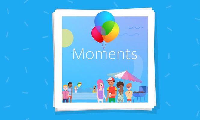 Moments, la app da Facebook para compartir las fotografías.