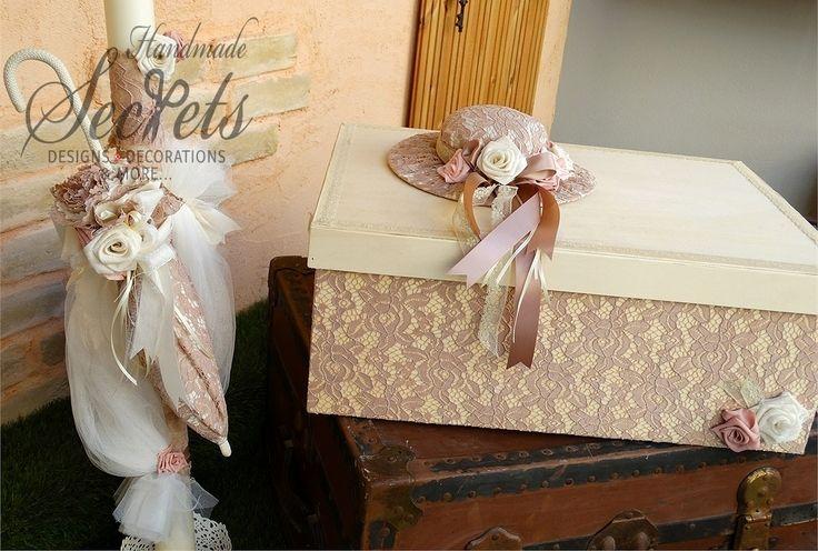 Μοναδικό πακέτο για βάπτιση κοριτσιού vintage με σάπιο μήλο χρώματα, μπομπονιέρες γάμου, μπομπονιέρες βάπτισης, Χειροποίητες μπομπονιέρες γάμου, Χειροποίητες μπομπονιέρες βάπτισης