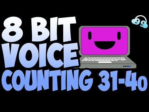 8 Bit Voice Counting 31-40 (FREE TO USE - FREE DOWNLOAD
