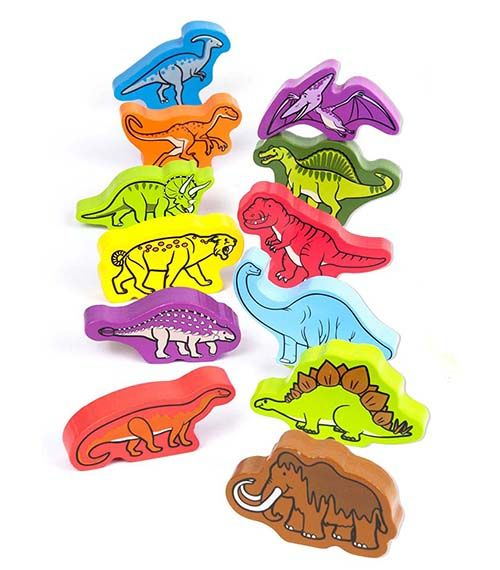 Roaming Dinosaurs From Hape from The Wooden Toybox