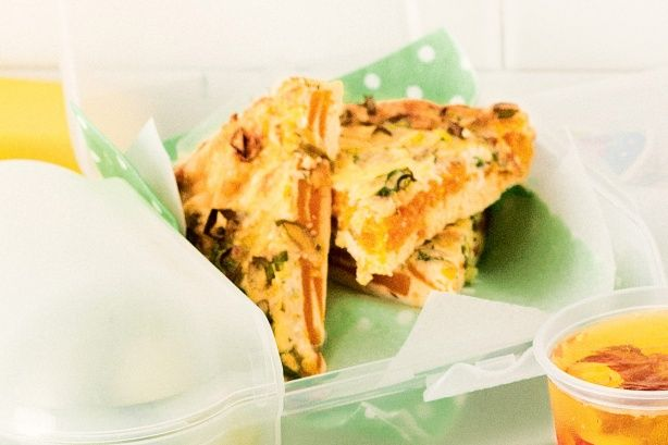 A healthy and cheap pumpkin frittata recipe that your kids will love.