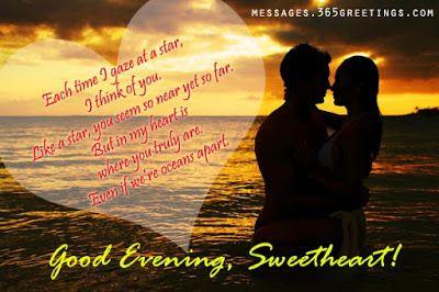 best good evening love images