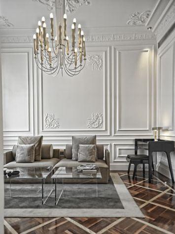 BOISERIE & C.: Living Room