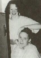 Brandon Teena having his hair dyed by Heather, his first girlfriend
