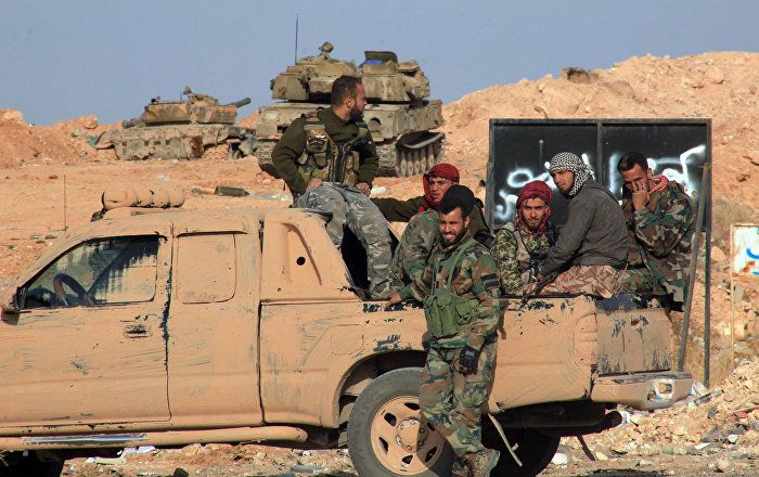 Syrian Army Takes Control of Huge Area in Aleppo Province