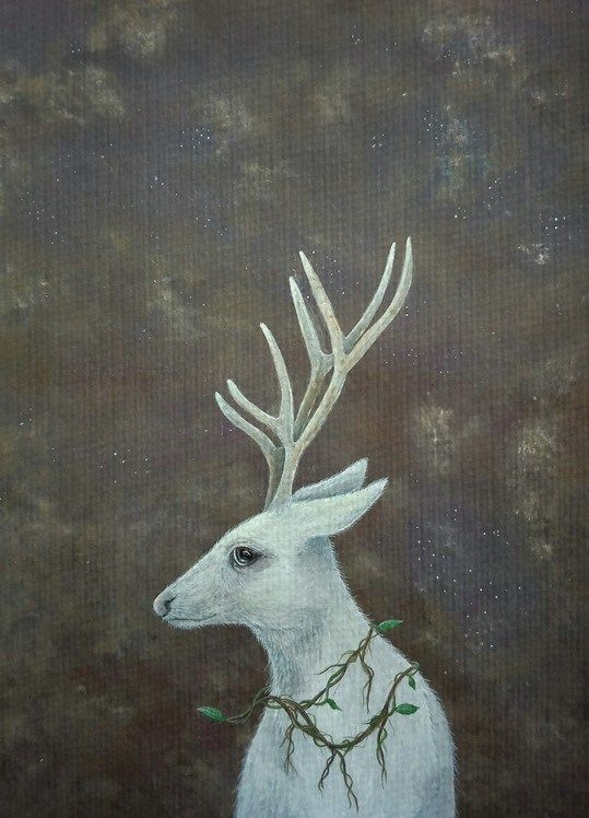 Watching the Stars and Painting the White Stag by Deborah Sheehy
