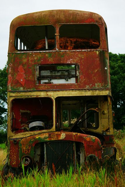 Bus Graveyard by fragglehunter aka Sleepy G, via Flickr