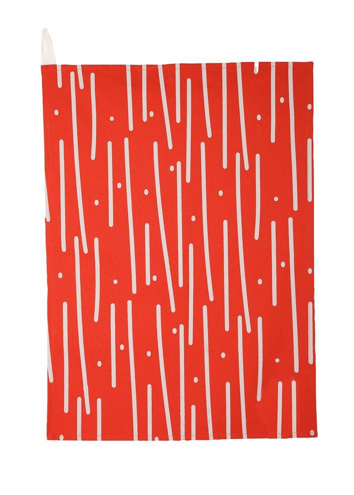 Tropical Rain Tea Towel