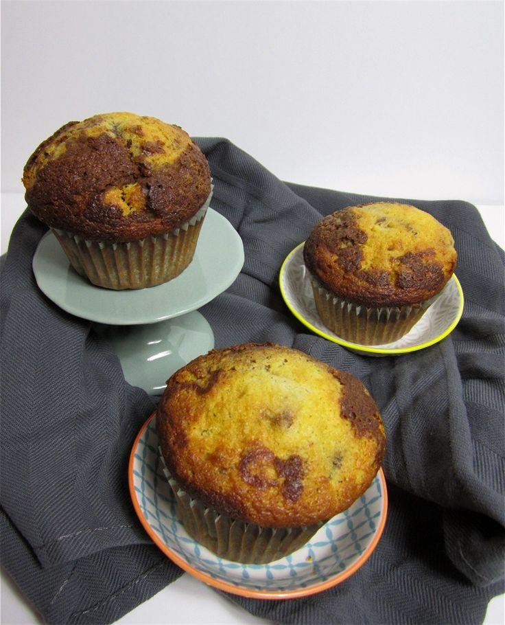 Fructosefreie und lactosefreie Marmor-Muffins   Marble Muffins - fructose and lactose free   süß und cremig - Foodblog
