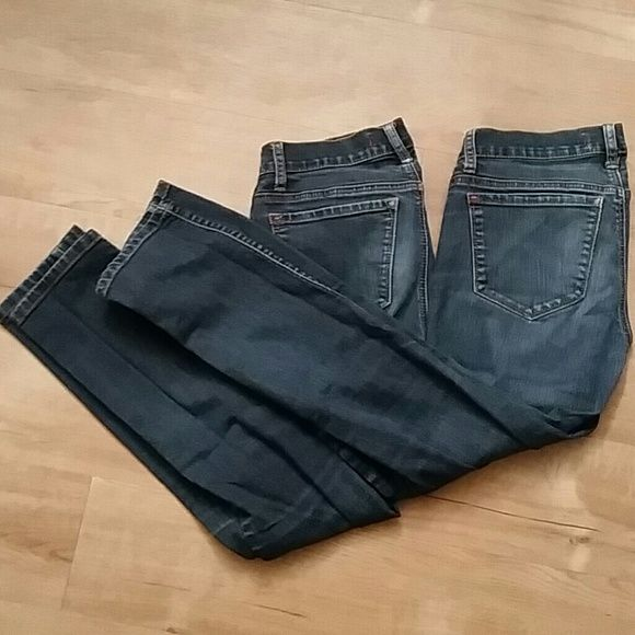 Great condition BDG Ankle Cigarette Jean Bundle 2 pairs of BDG Ankle Cigarette jeans from H&M no major wears and no tears on these jeans. They are just too big for me. BDG Pants