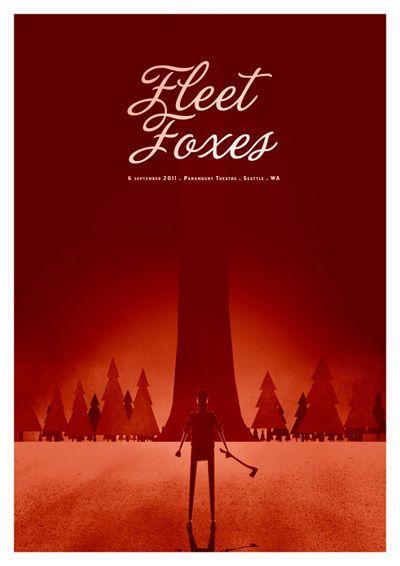 Fleet Foxes by Rodrigo Maia