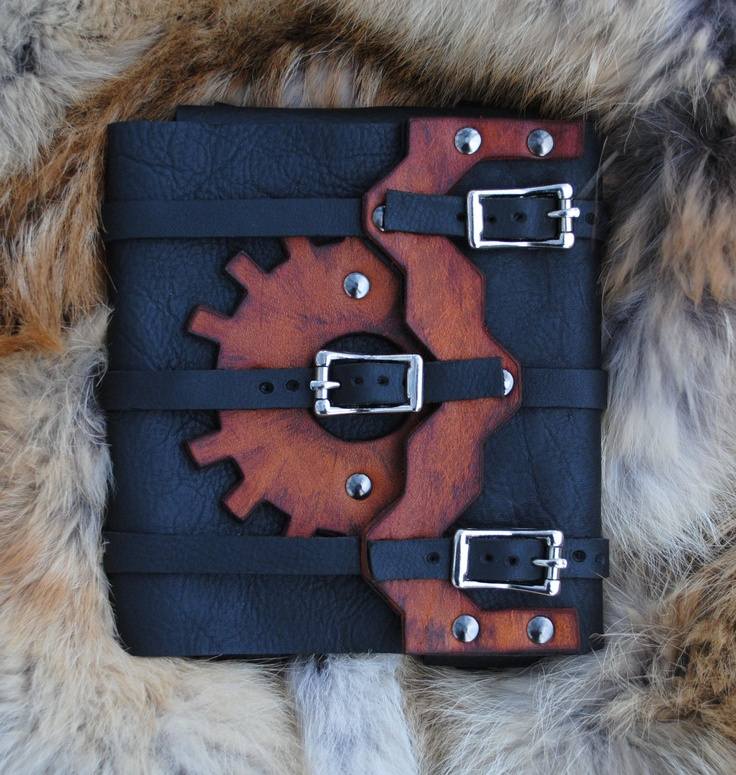 Leather Steampunk Kindle Touch Case. $149,99, via Etsy. - Epic.