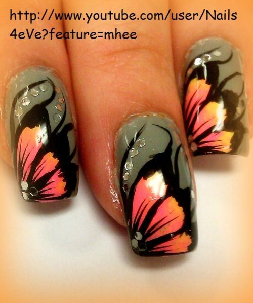 WowNails Care, Nails Art, Nails Design, Flower Nails, Flower Art, Makeup, Beautiful, Nature Nails, Art Supplies