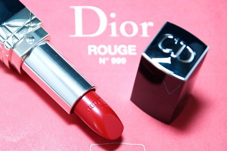 "Dior ""Rouge 999"" lipstick"
