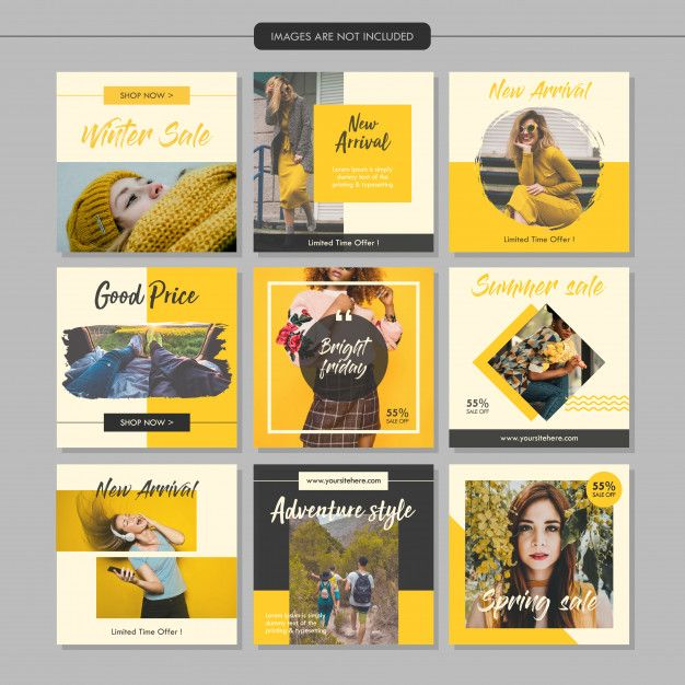 Freepik Recursos Graficos Para Todos Social Media Design Graphics Social Media Design Inspiration Instagram Template Design